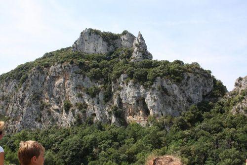 Uitzicht bij de Ardèche