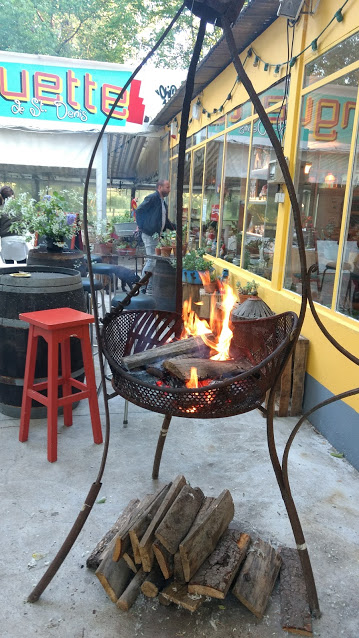 Vuurkorf restaurant La Guingette