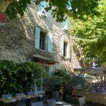Heerlijke terrassen in Aigueze