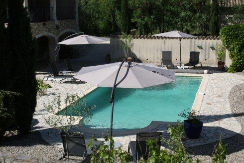 Vanaf nu, verwarmd zwembad!